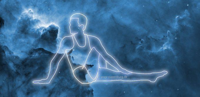 Rücken-Yoga Drehsitz