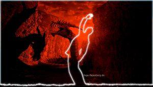 Helden-Yoga - Stehendes gedrehtes Kamel