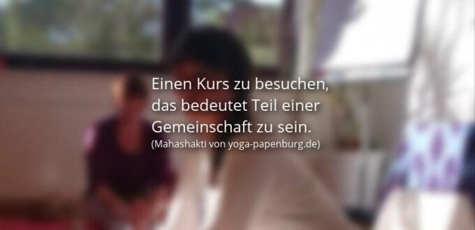 Yoga Kurs mit Mahashakti