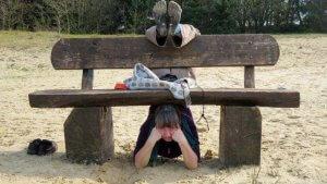 Parkbank-yoga