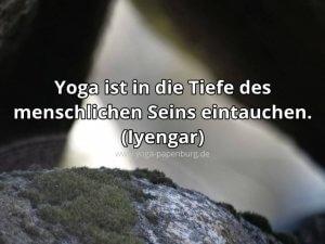 Yoga und die Tiefe des menschlichen Seins