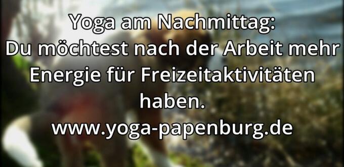Yoga-Zeit Freizeit
