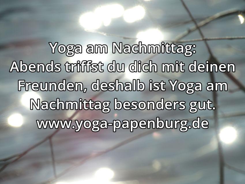 Yoga-Zeit Freunde