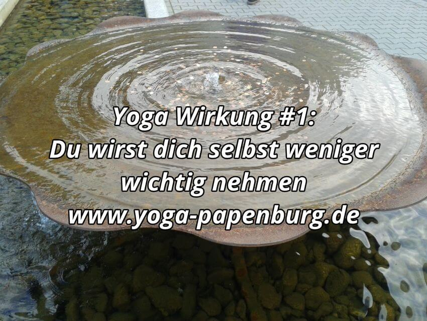 Yoga Wirkung Ego