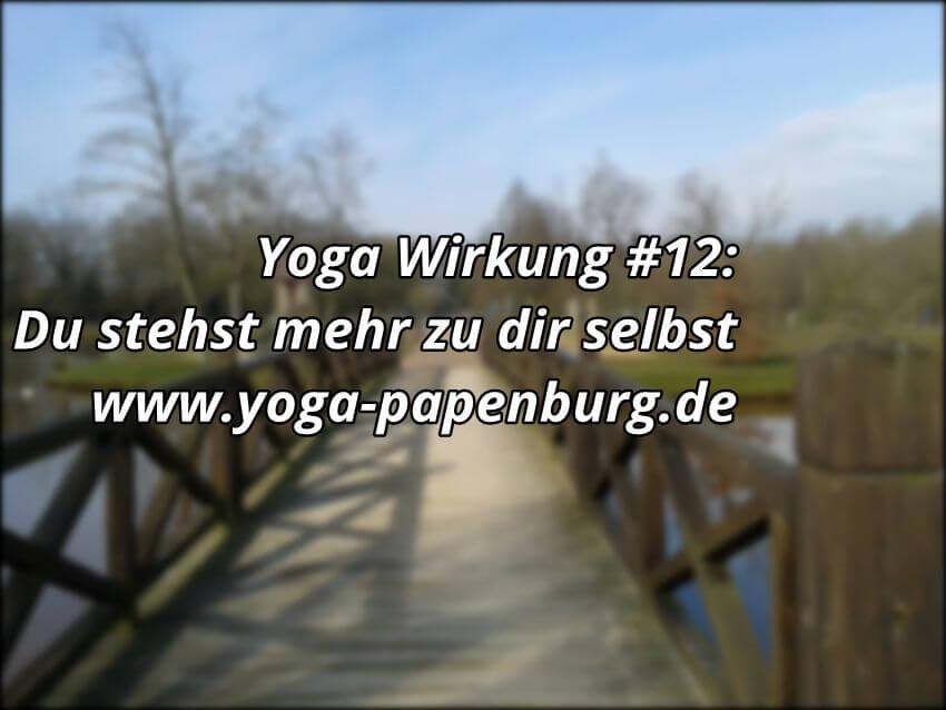 Yoga-Wirkung: Zu dir stehen
