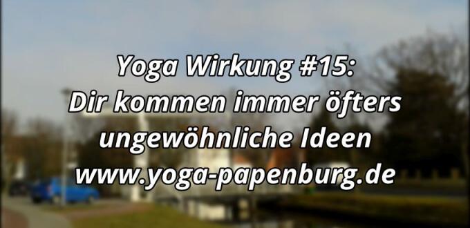 Yoga Wirkung 15 Ideen