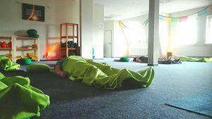 Tiefe Entspannung im Yoga-Kurs Papenburg