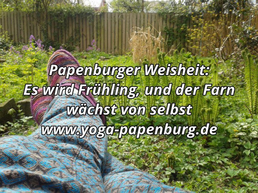 Frühling in Papenburg!
