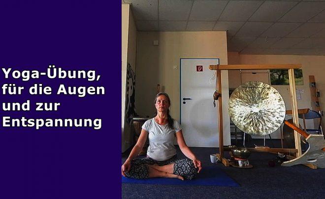 Yoga-Übung-für-die-Augen-Entspannung