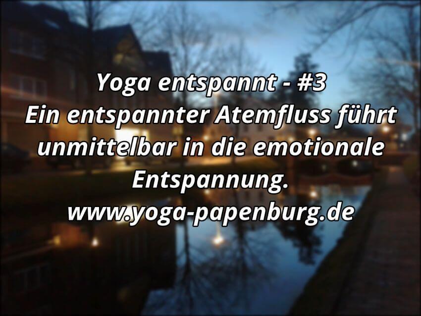 Yoga Entspannung Atem Emotion