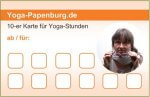 10er-Karte für Yoga-Stunden