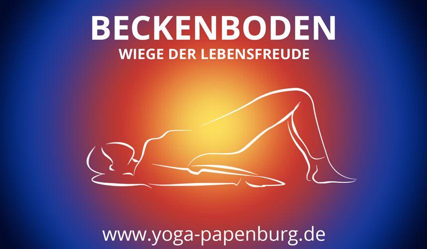 yoga übungen beckenboden