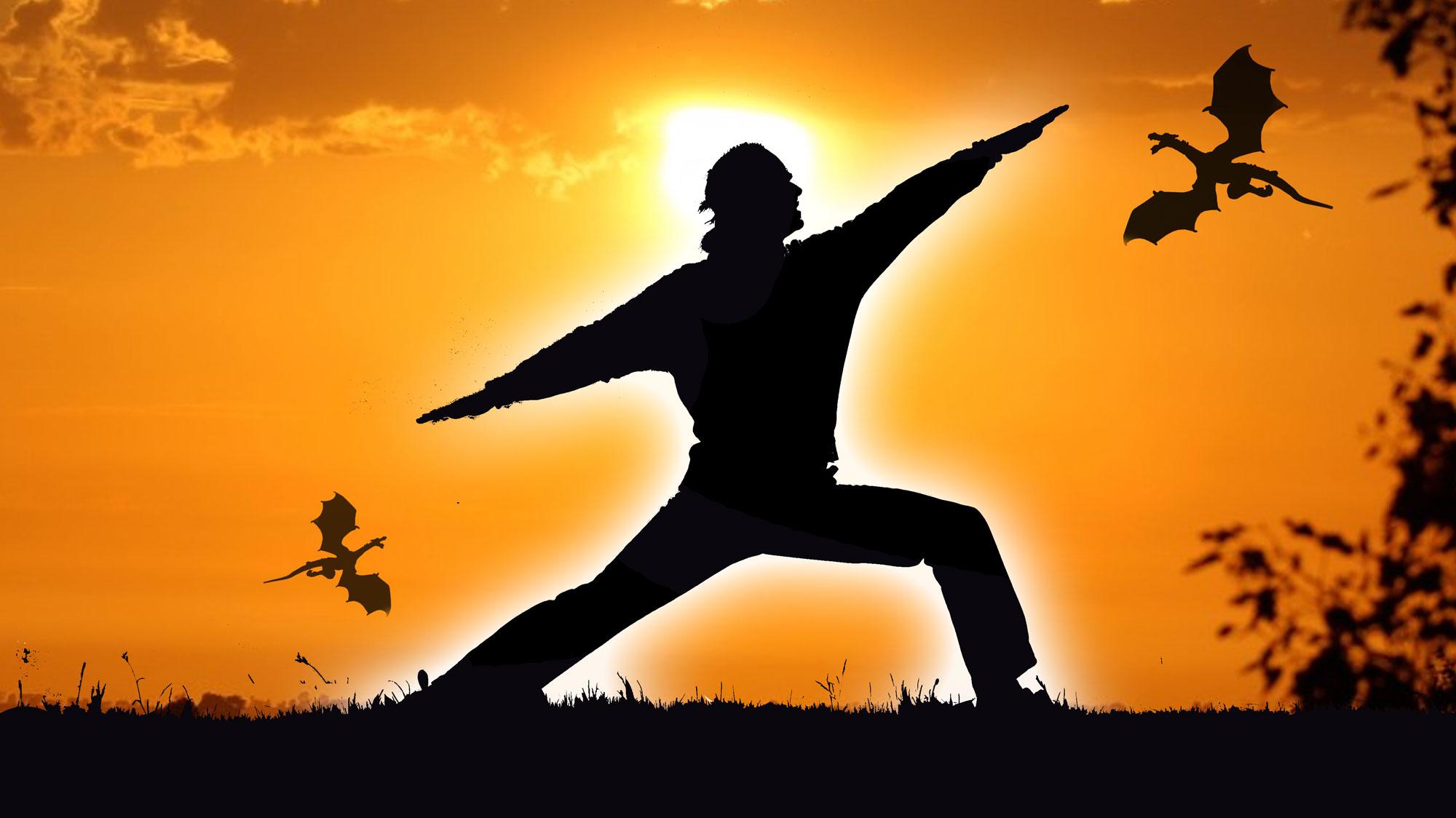 Yoga Helden - Helden-Yoga