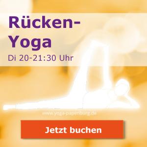 Rücken-Yoga-Kurs Dienstags 20-21:00 buchen