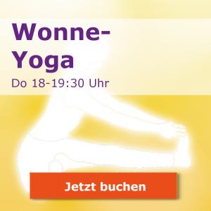 Wonne-Yoga-Kurs Donnerstags 18-19:30
