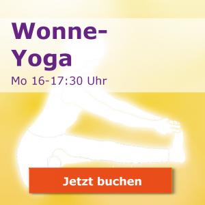 Wonne-Yoga-Kurs Montags 16-17:30