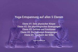 Anleitung: Yoga-Entspannung auf allen 5 Ebenen