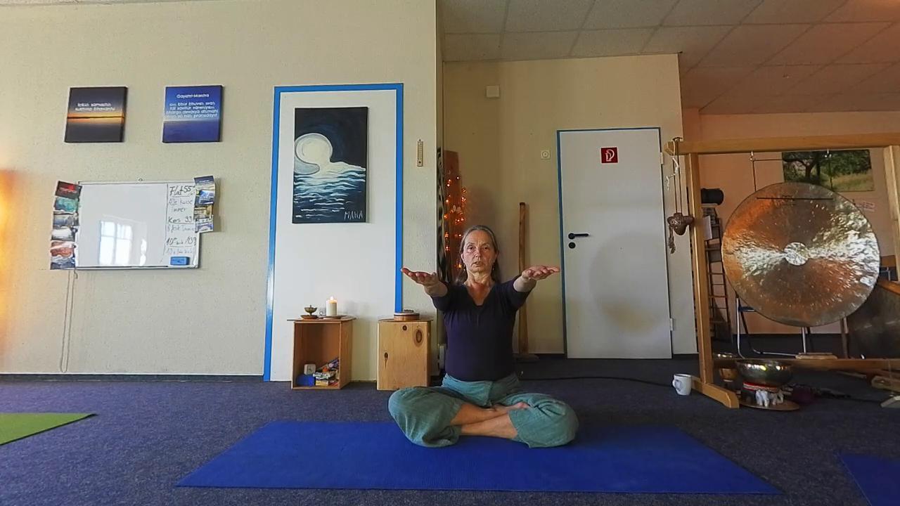 Schulter-Übungen Yoga-Kurs