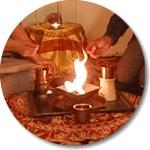 Homa: Agni macht Skoprion