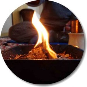 Homa-Kund für Feuer-Opfer