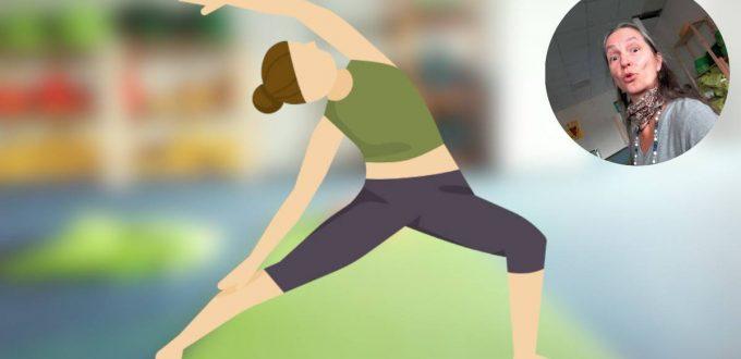 Helden-Yoga und die Wirbelsäulenatmung