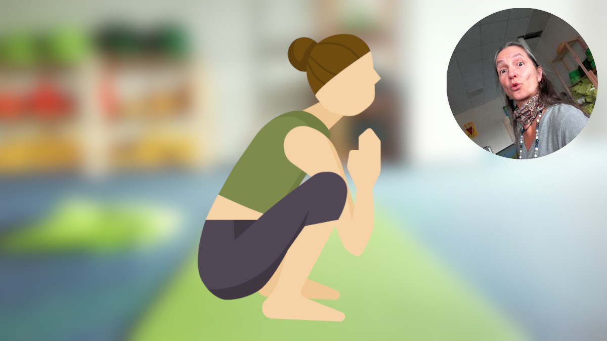 Rücken-Yoga für die Hüften und den unteren Rücken