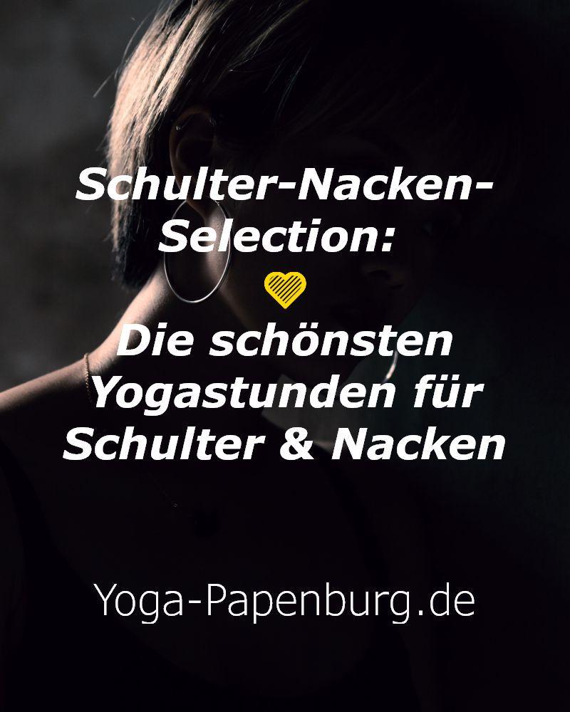 Schulter-Nacken-Übungen aus dem Yoga