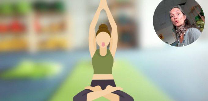 Wonne-Yoga-Kurs: Sitzende Streckung für die Brustwirbelsäule