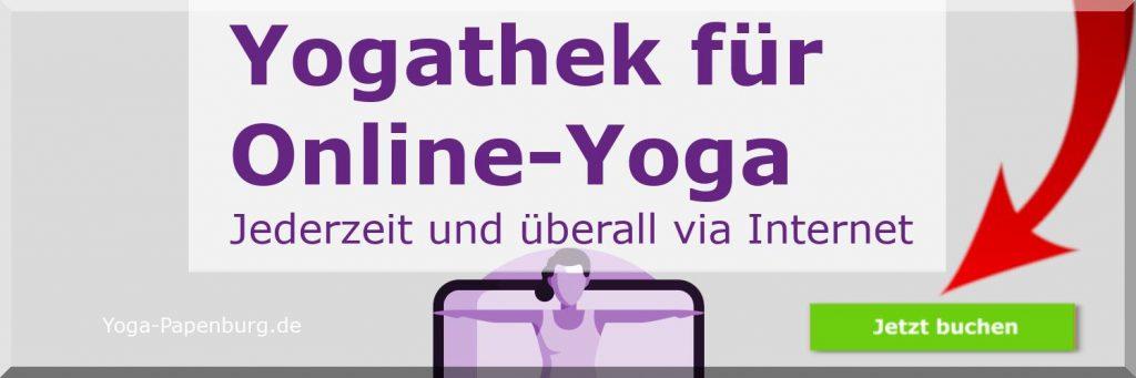 Yogathek für Online-Yoga