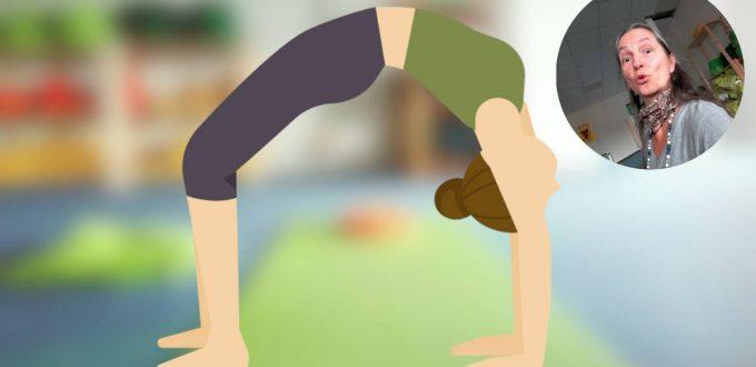 yoga-stunde Chakrasana - Das Rad